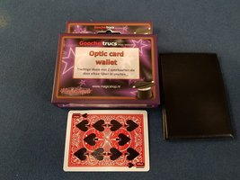 Optic card wallet
