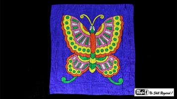 Doek vlinder 36 inch (90 x 90 cm)