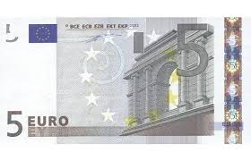 Flash bankbiljet 5 euro