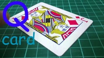 Q-card (flap card)