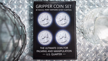 Gripper Coin (Set/(halve)dollar) by Rocco Silano