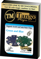 Magnetic Scotch and Soda Poker Chips by Tango
