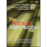 Add-A-Number-Pad - Basil Horwitz