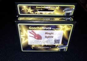 Magic lights - goochelen.nl
