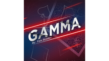 Gamma blauw by Felix Bodden and Agus Tjiu