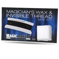 Invisible thread & wax kit