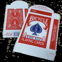 Bicycle kaartdoosje leeg rood