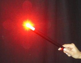 Super wand light rood