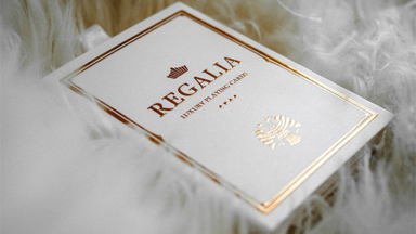 Regalia White Speelkaarten by Shin Lim