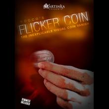 Flicker Coin (Half) by Rocco