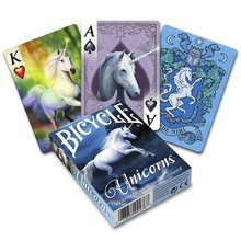 Bicycle Anne Stokes Unicorns speelkaarten
