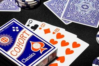 Cohorts blue speelkaarten