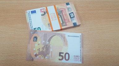 Nepgeld 50 euro (stack 100 stuks 5000 euro)