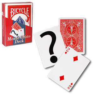 Bicycle Monte cristo deck