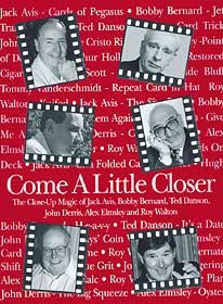 Come a little closer book