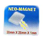 Neo Magnet 30x25x1