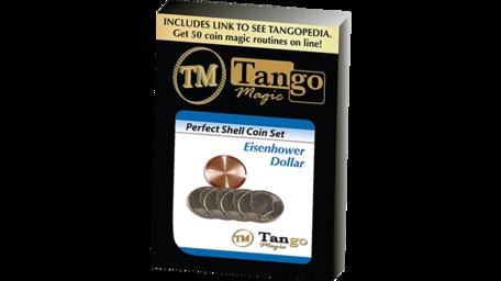 Perfect Shell Coin Set Eisenhower Dollar