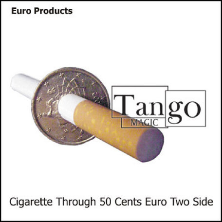 Cigarette through 50 cents (2 sides)