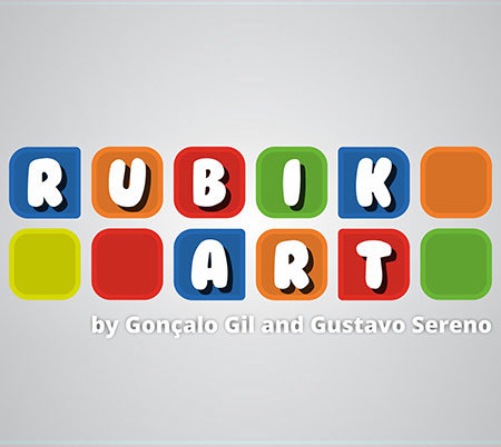 Rubik Art by Goncalo Gil and Gustavo Serano