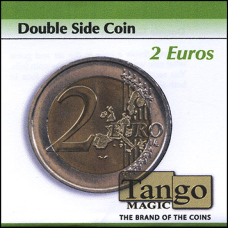 2 euro coin sided