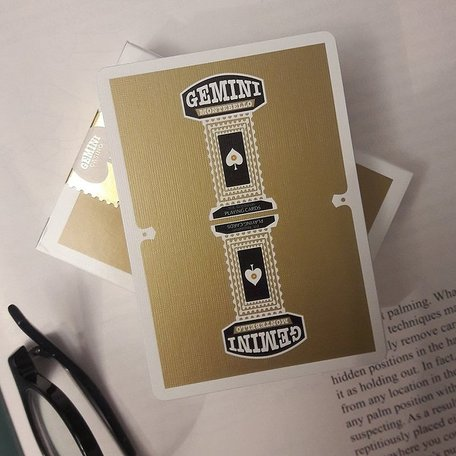 Gemini Casino Gold Playing Cards