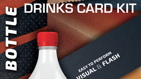 Presale: Drink Card KIT for Astonishing Bottle by João Miranda and Ramon Amaral