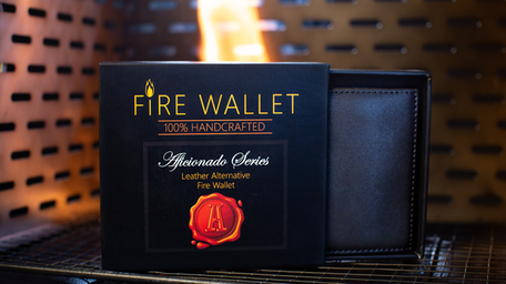 The Aficionado Fire Wallet by Murphy's Magic