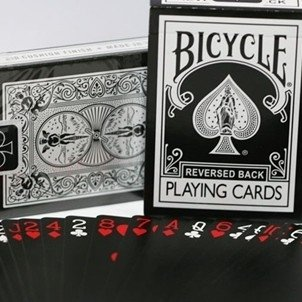 Bicycle reversed back black 2e generatie