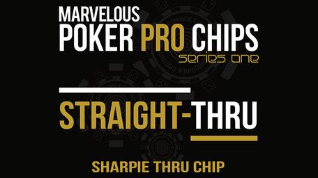 Straight Thru - Sharpie Thru Chip by Matthew Wright