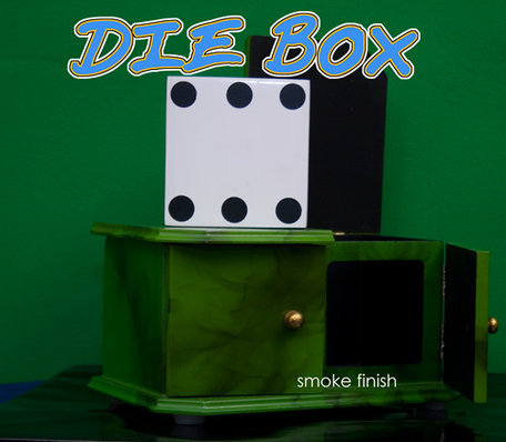 Die box smoke green - dobbelsteenkast