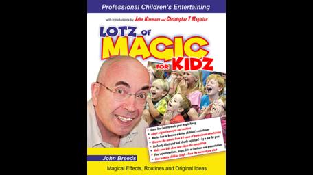 LOTZ of MAGIC for KIDZ boek by John Breeds