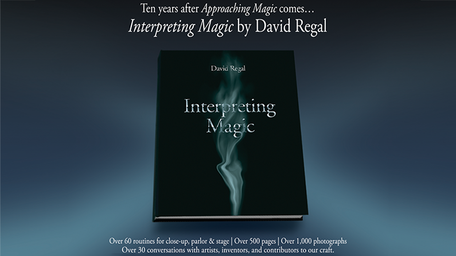 Interpreting Magic book by David Regal
