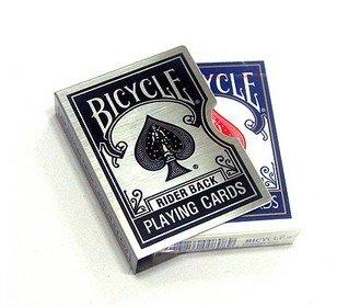 Bicycle card guard clip zwart