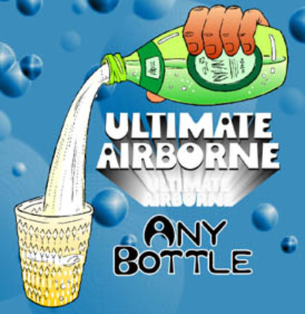 Airborne any bottle magnetisch
