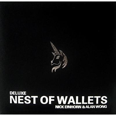 Nest of wallets - deluxe. super soft