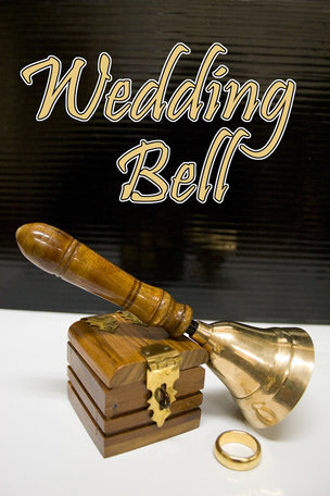 Wedding bell - ring box