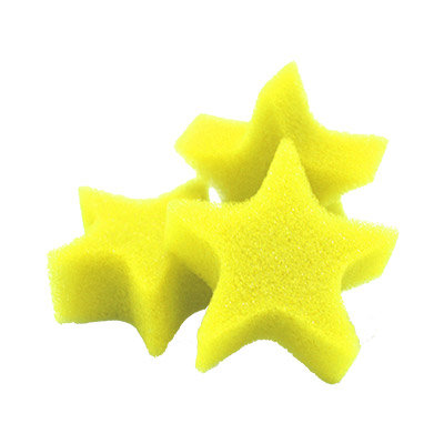 Spons ster geel