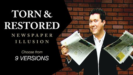 Download: Torn & Restored Newspaper Illusion Complete Series