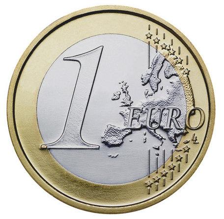 Magnetische munt 1 euro