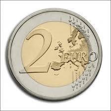 Magnetische munt 2 euro