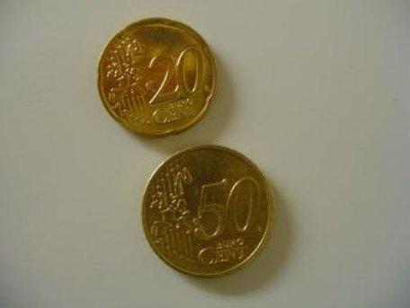 Magnetische munt 0.20 cent