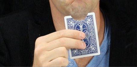 Bijt kaart - goochelen.nl
