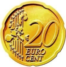 Expanded Shell 20 eurocent