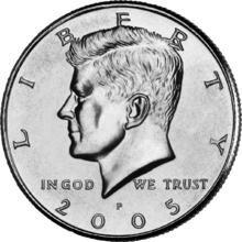 Expanded Shell halve dollar