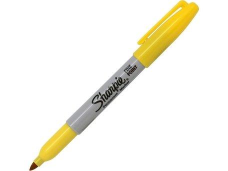 Sharpie Pen geel