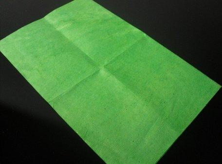 Flash Paper groen