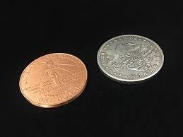 Hopping Morgan dollar