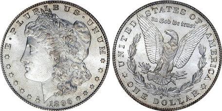 Morgan Dollar, kopie