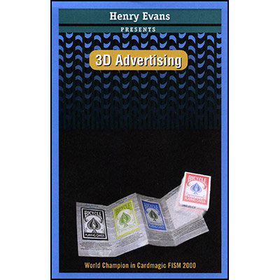 3D Advertising by Henry Evans