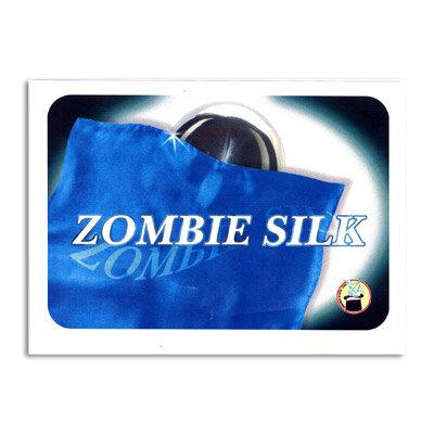 Zombie doek blauw